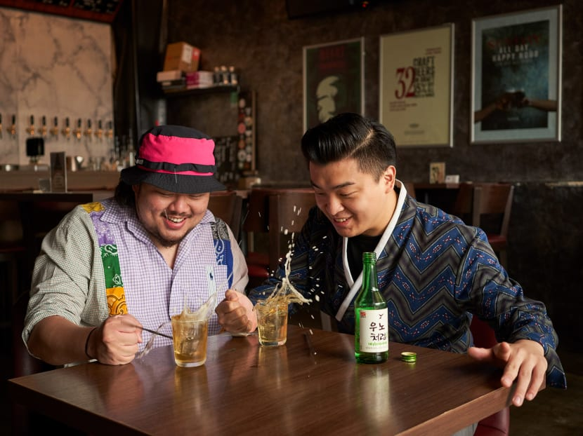 Soju is becoming more popular in Singapore, thanks to the Korean wave