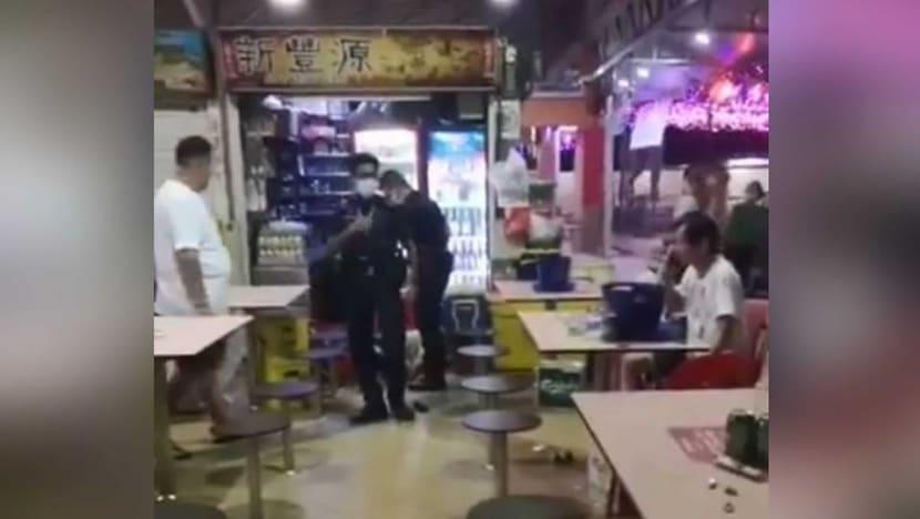 Police investigating fight at Chong Pang food centre, 61-year-old man taken to hospital