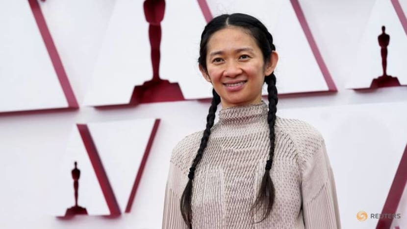 Chloe Zhao makes Oscars history as first Asian woman to win best director