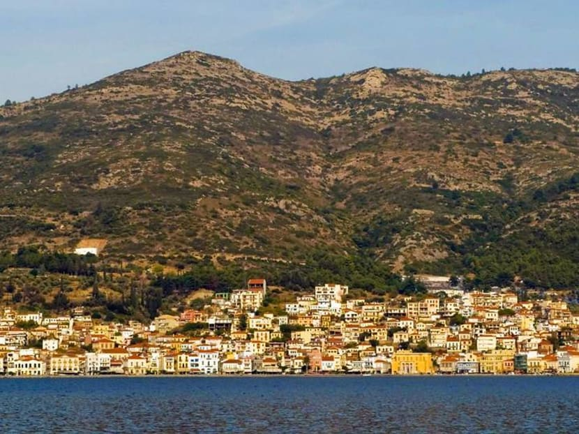 Volunteering and vacationing on the Greek island where Aesop told his stories