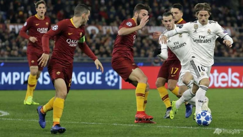 Football: Real Madrid, Juventus and Man City into Champions League last 16