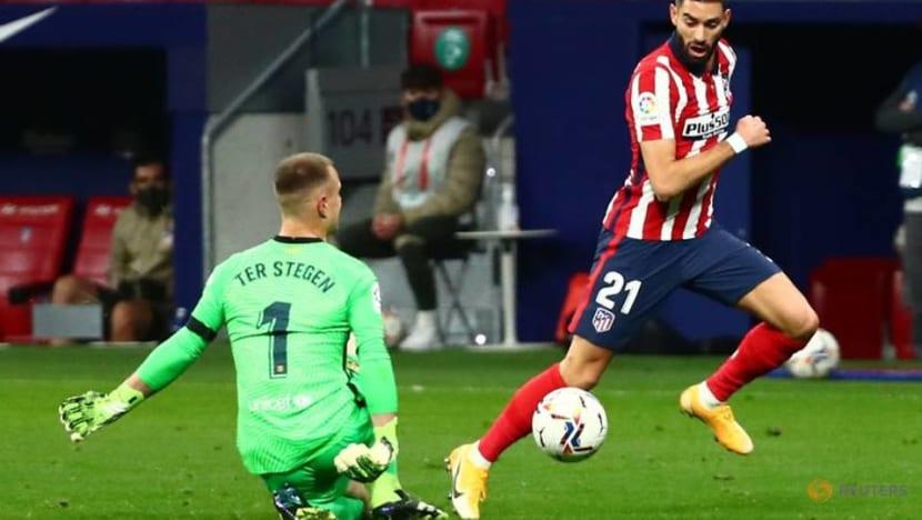 Atletico's Carrasco, Hermoso test positive for COVID-19