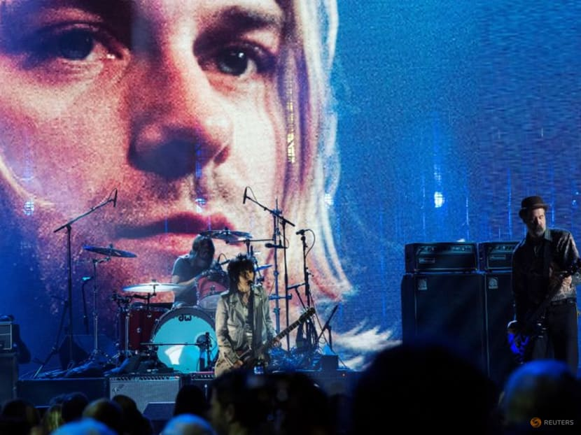 Man photographed as naked baby on Nirvana album cover sues for sexual exploitation