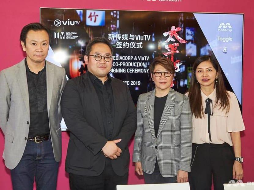 Mediacorp partners Hong Kong's ViuTV to produce drama series