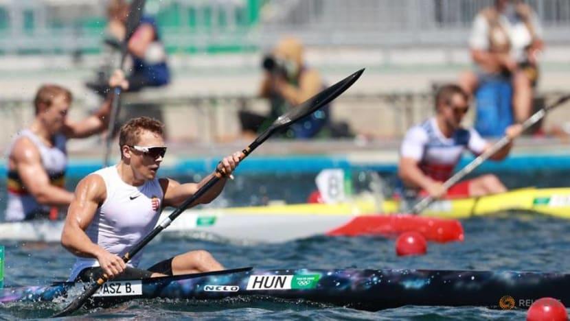 Olympics-Canoe sprint-Hungary's Kopasz wins men's kayak single 1000m gold