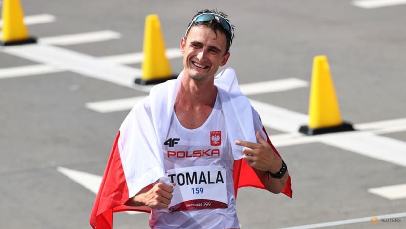 Olympics-Athletics-Poland's Tomala wins gold after switch to 50km walk