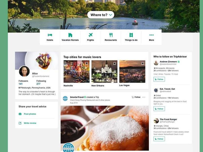 TripAdvisor revamps offerings, adds news feed, influencers and bookings
