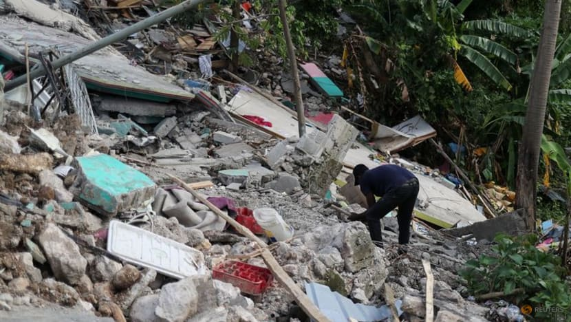 Haiti faces anger and despair a week after quake, fanning security fears