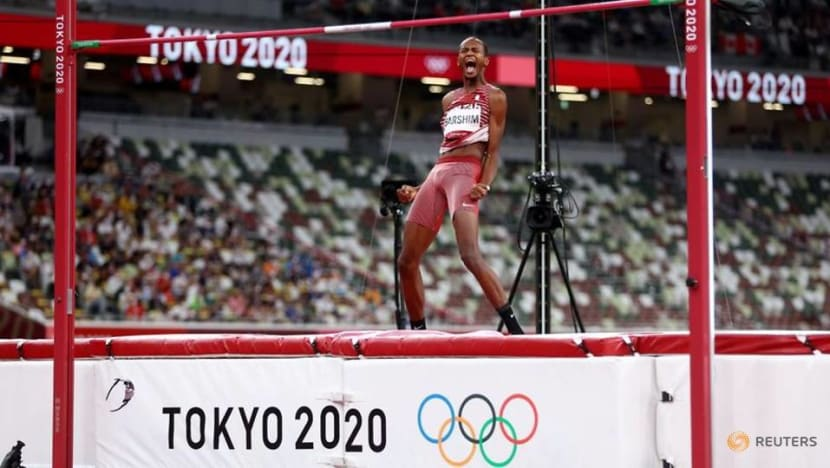 Athletics: 'Can we have two golds?' - Barshim, Tamberi share high jump win