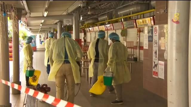 大巴窑5巷小贩中心关闭两天进行清洁 所有摊位关闭直到另行通知