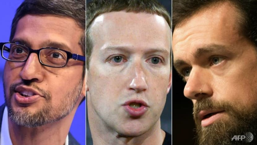 Big Tech CEOs told 'time for self-regulation is over' by US lawmakers