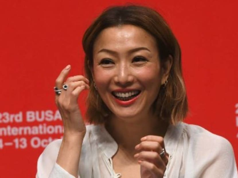 It's 'blue' skies ahead for Sammi Cheng, weeks after husband Andy Hui's cheating scandal