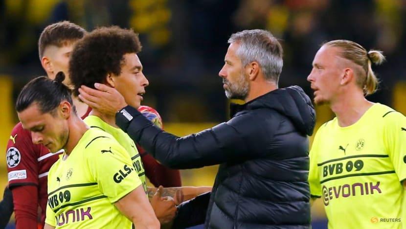Malen's maiden goal hands Dortmund 1-0 win over Sporting
