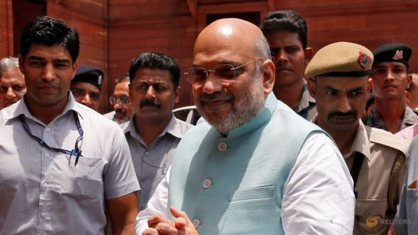 India interior minister back in hospital after recovering from COVID-19