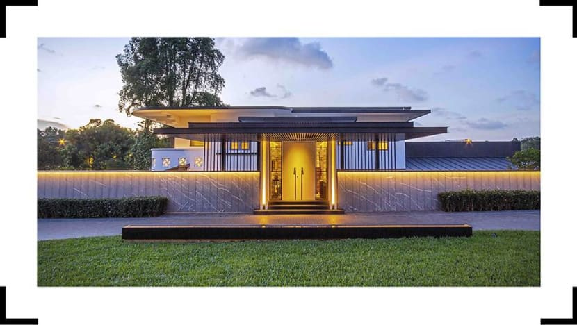 House Tour: A refurbished 33,000 sq ft family home in Singapore
