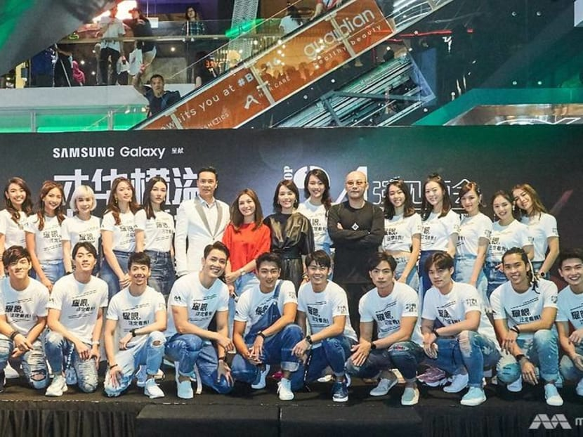 Star Search Top 24 contestants hit Funan Mall for their first public meet-and-greet
