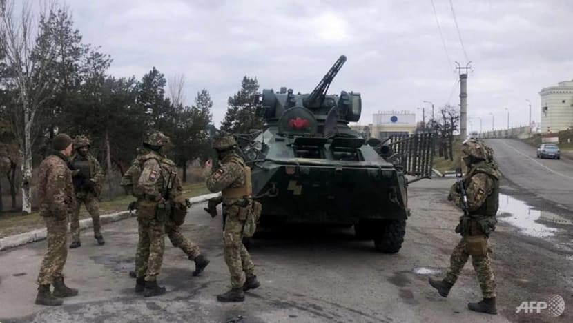 Germany, United States call on Russia to pull back troops from Ukrainian border