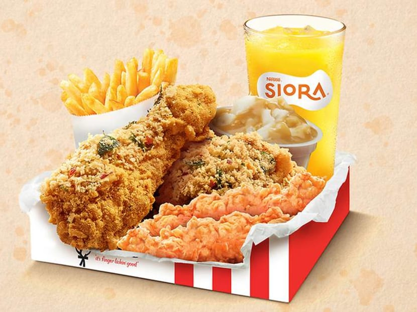 KFC to launch crunchy new 'tze char' favourite Cereal Chicken on Jun 28