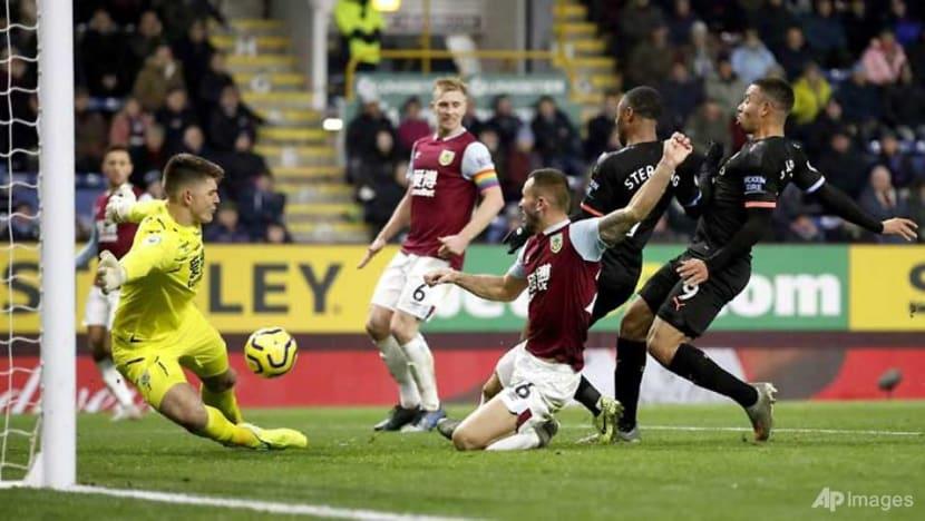 Football: Man City bounce back to thrash Burnley