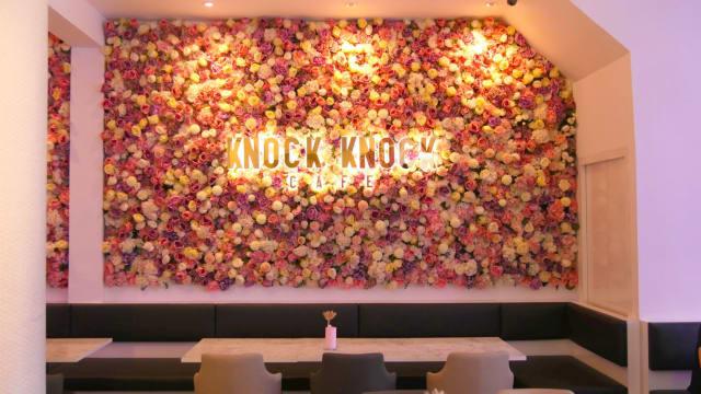 Knock Knock!打卡少女心爆棚的花卉Café