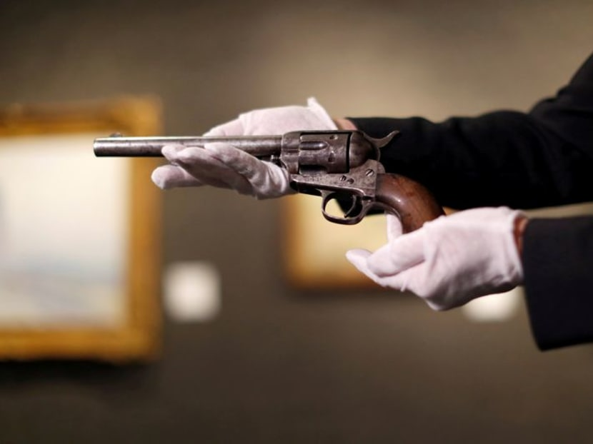 Gun that killed Billy the Kid sells for US$6 million
