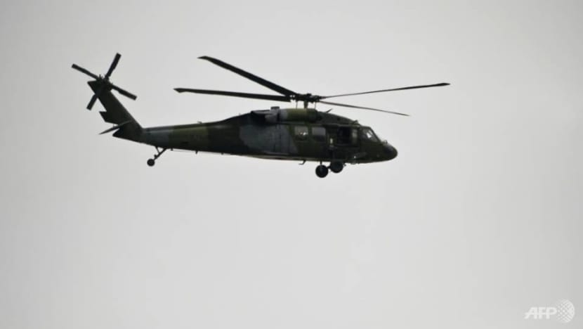 Philippine military grounds Black Hawk helicopters after crash kills six