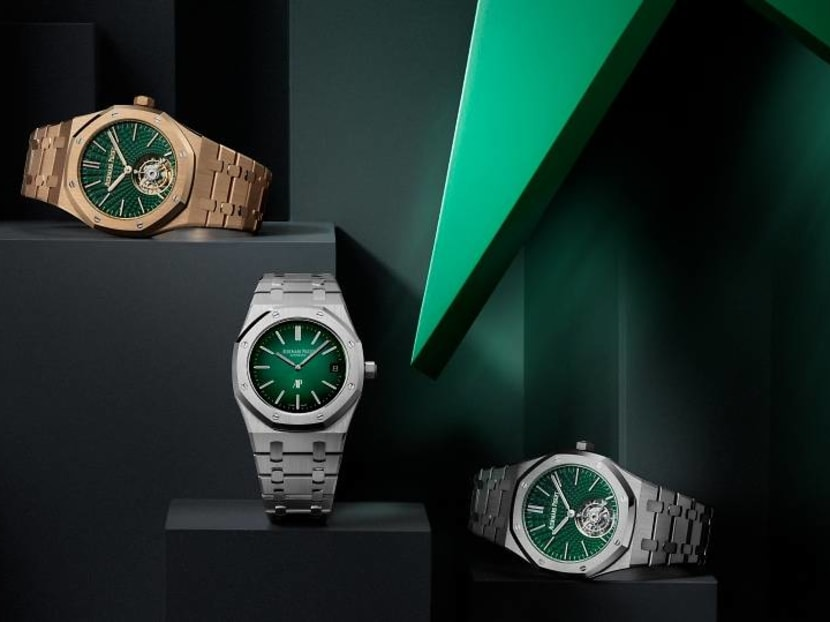 The beloved Royal Oak is now available in the hottest colour of the season