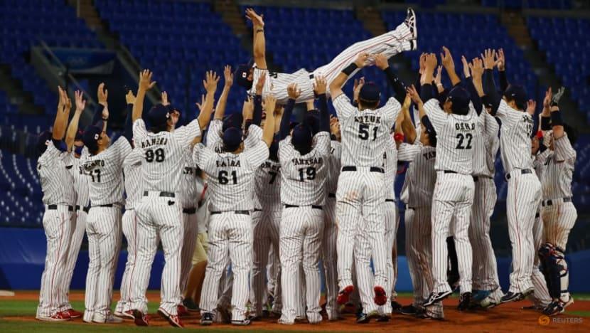 Olympics-Baseball-Japan rejoice over 'wonderful' gold medal, pressure off their backs