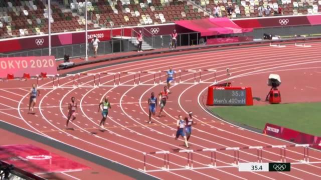 挪威男将沃尔霍姆破400米跨栏世界纪录
