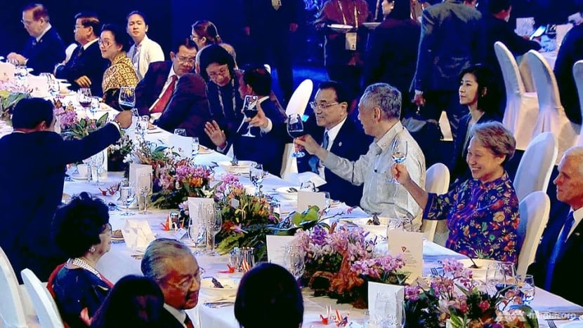 Local flavours on the menu at ASEAN Summit gala dinner in Singapore
