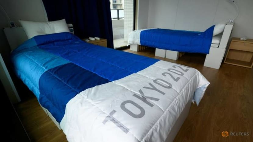 Plastic podiums, recycled medals, cardboard beds: Sustainability at Tokyo 2020