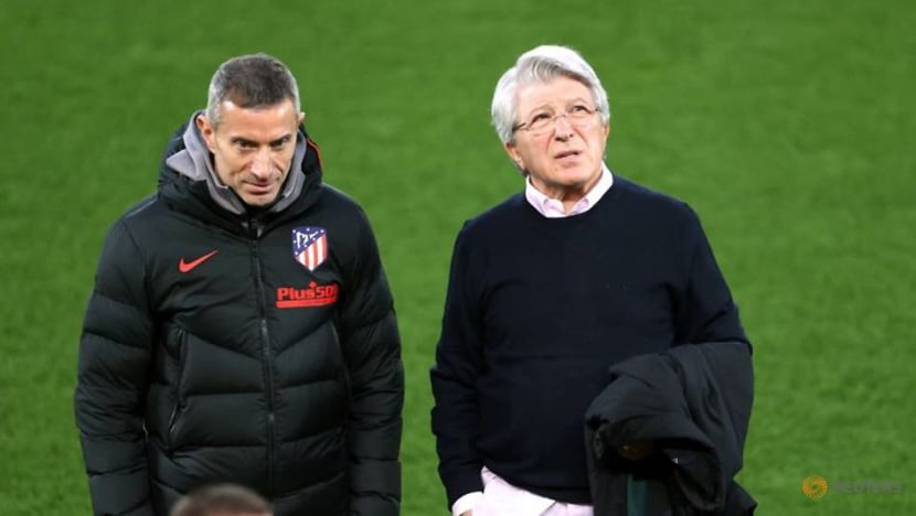 Football: If you don't like it buy your own club, says Atletico chief after European exit