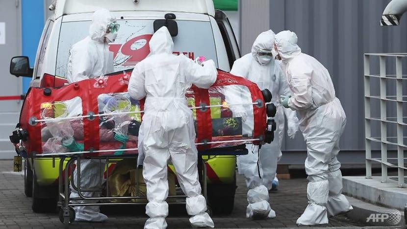 Mayor in virus-hit South Korean city says COVID-19 outbreak may be slowing