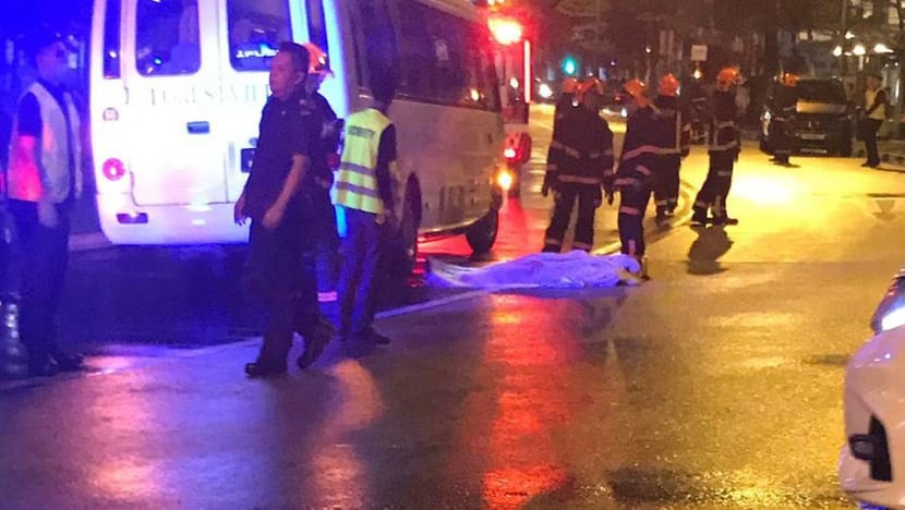 Man dies after being hit by private bus outside Forestville EC; driver arrested