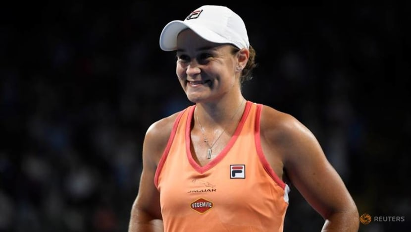 Tennis-Barty makes winning return in Melbourne