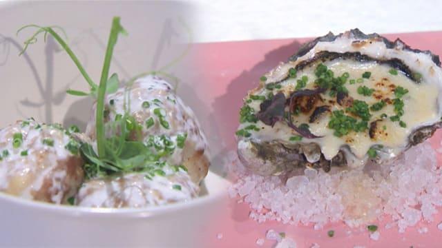 《科学食验事》食谱:白酱肉丸 & 奶酪白汁生蚝