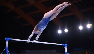 Gymnastics-Japan's Hatakeda suffers serious spinal injury in training fall