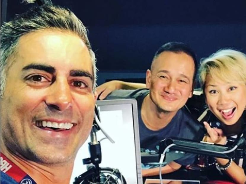 Actor-comedian Gurmit Singh joins the radio morning team on Gold 905