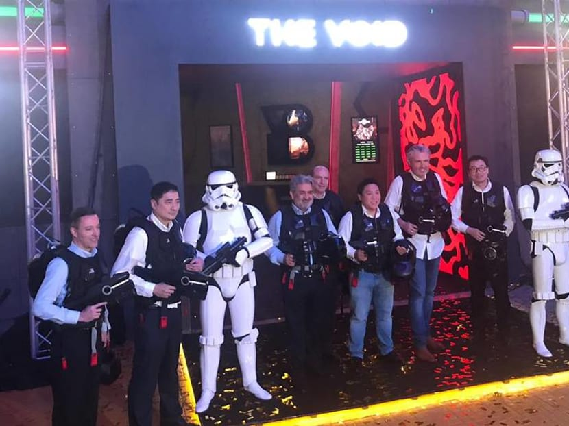 The Void looks to open virtual reality centres with Star Wars experience in Singapore, China