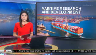 S$80 million boost to grow Singapore's position as maritime innovation hub   Video