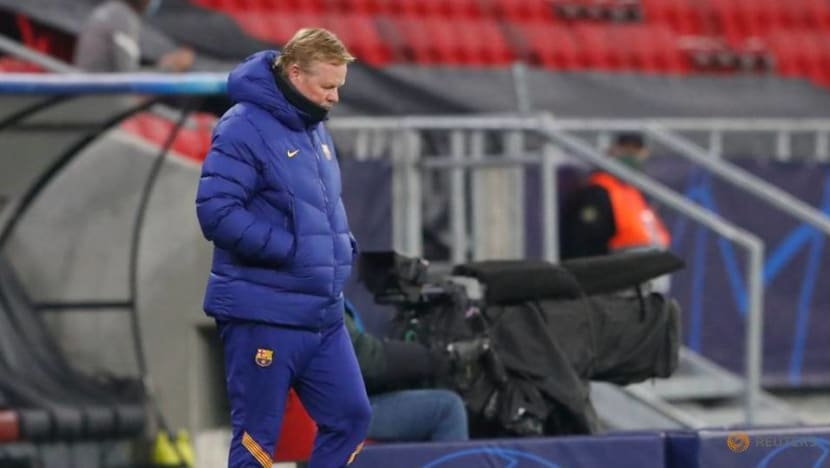 Football: Koeman frustrated at Barca president's Messi comments