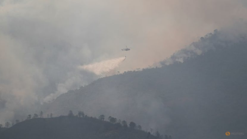 More evacuations as Spanish wildfire blazes for fifth day