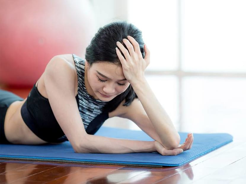 Should you attempt yoga if you have asthma, a headache or are on your period?