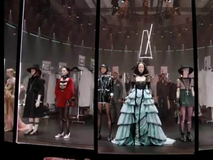 Gucci's Alessandro Michele takes the fashion crowd behind the seams