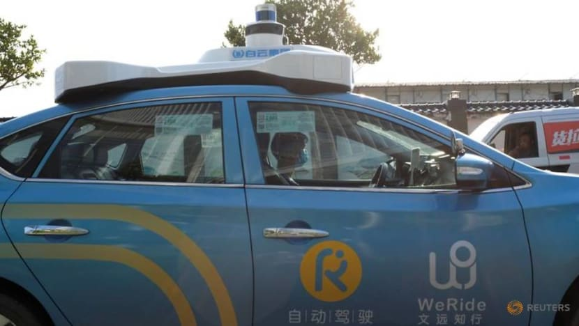Nissan-backed self-driving startup WeRide raises new funds, puts value at US$3.3 billion
