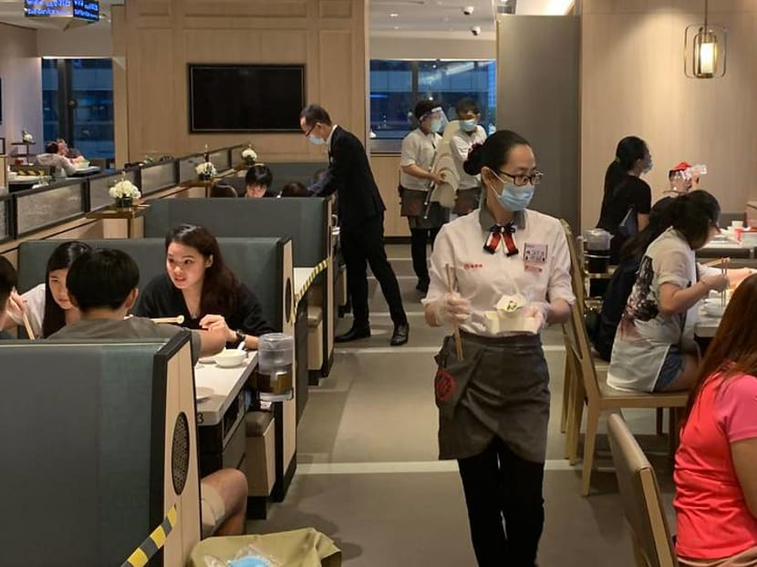 People are 'dying to get out': Restaurants see dinner crowds as Singapore enters Phase 2 of reopening