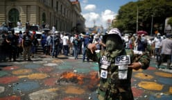 Thousands protest in El Salvador against Bukele government