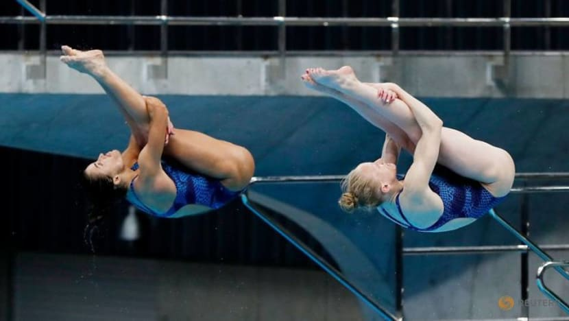 Olympics: Under close supervision, Tokyo welcomes foreign divers to test event