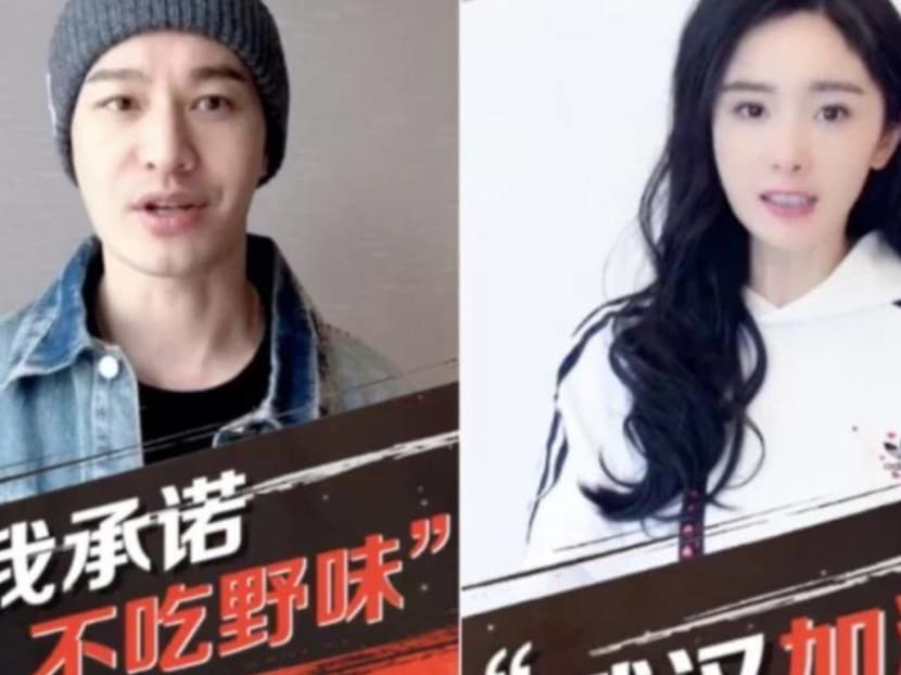 Kris Wu, Angelababy and other Chinese celebrities say 'no to the consumption of wildlife'