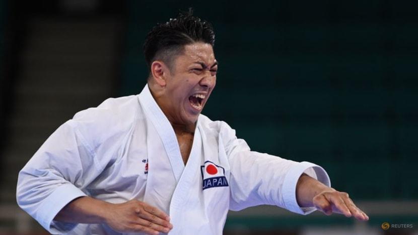 Olympics-Karate-Okinawa's Kiyuna mesmerises to win men's kata gold